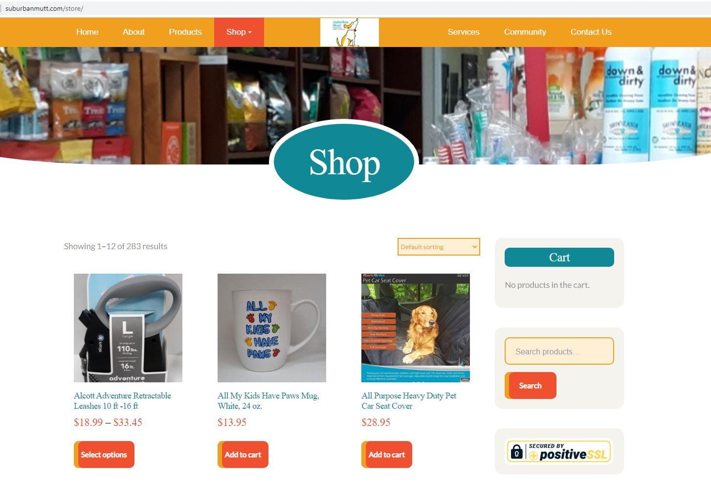 Houston eCommerce Web Design
